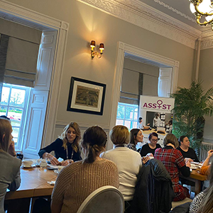 We certainly do not hate Networking! – Helen Beattie Blog Image